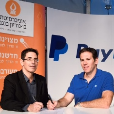 Ben-Gurion University and PayPal to Join Forces in Cybersecurity Research
