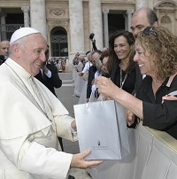 President Carmi leads Delegation to the Vatican