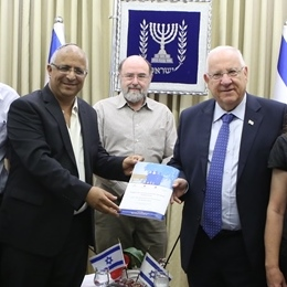 New Research presented to President Reuven Rivlin: Crime Prevention Program saves Money in the Long Term