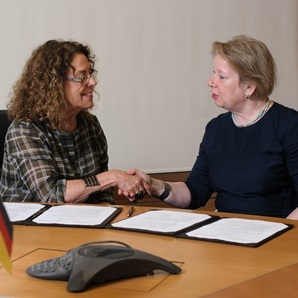 BGU Signs MOU with German Armed Forces University