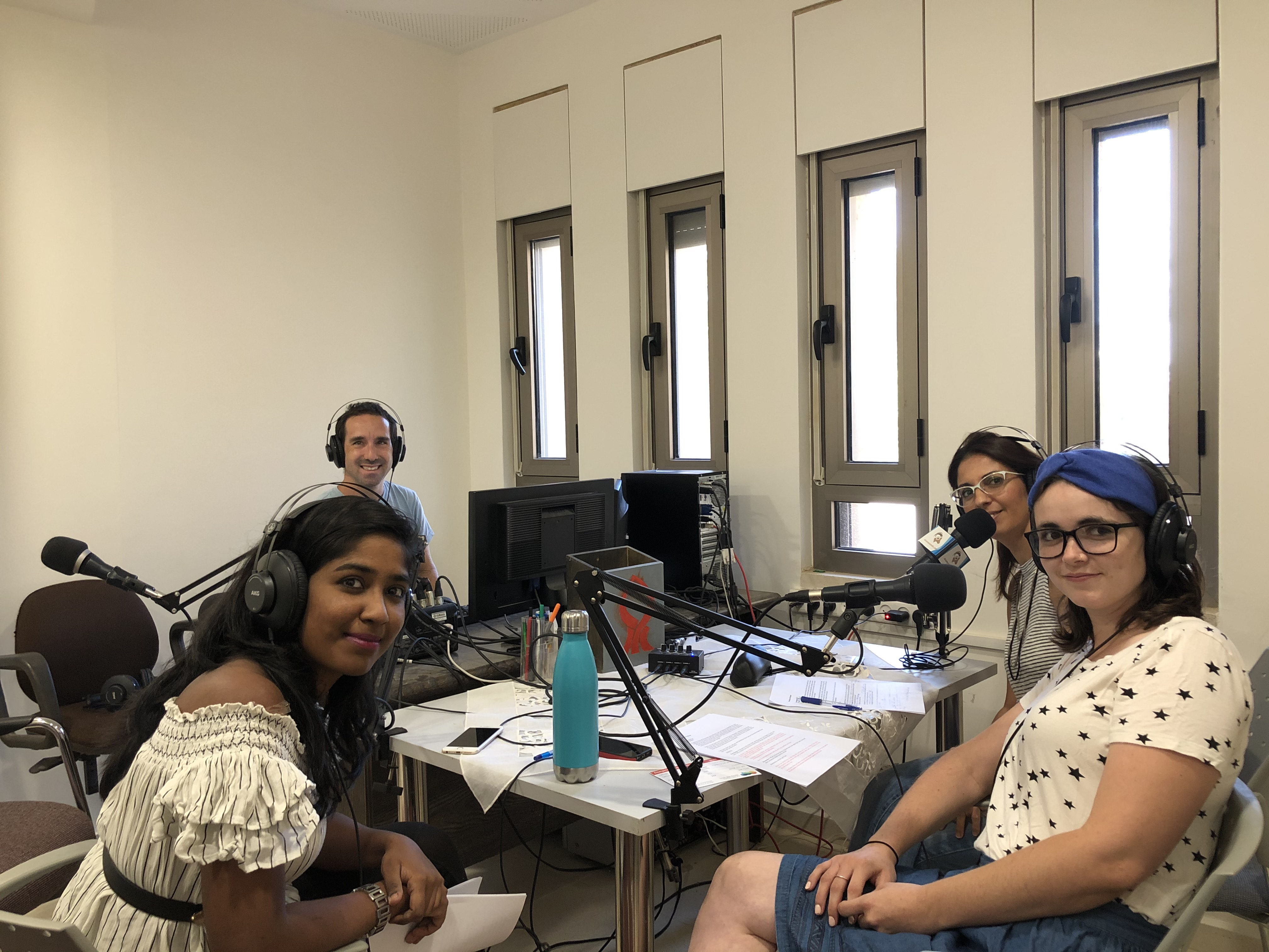 Sede Boker Campus Orientation podcast1.JPG