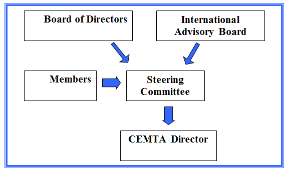 diagram of organizational strcutre