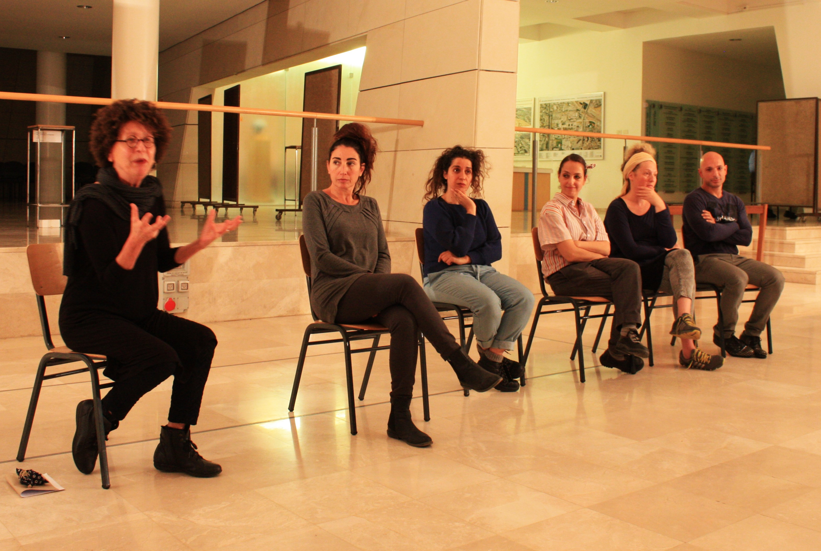 Discussion with Ruth Kanner and Performers.JPG