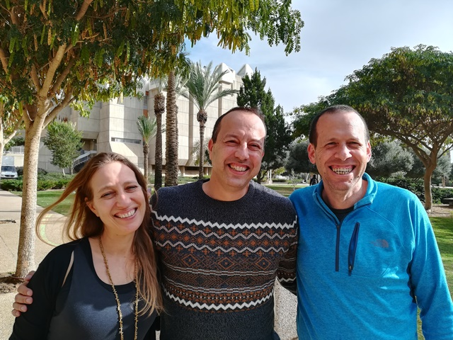 Dr. Dana Vedder-Weiss, Prof. Guy Roth and Prof. Adam Lefstein | Photo credit: Yael Zohar Shefer